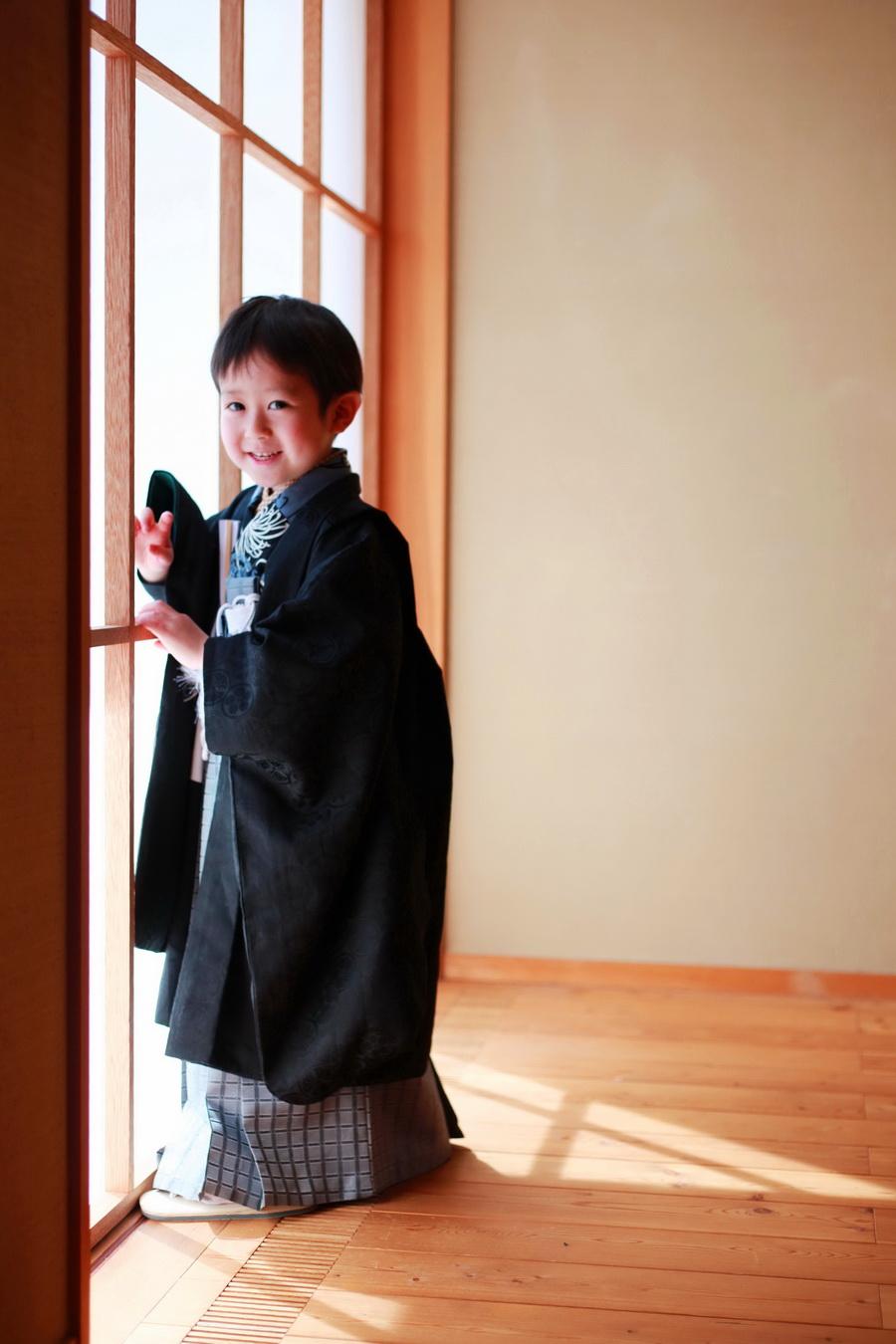 着物モデル撮影5歳