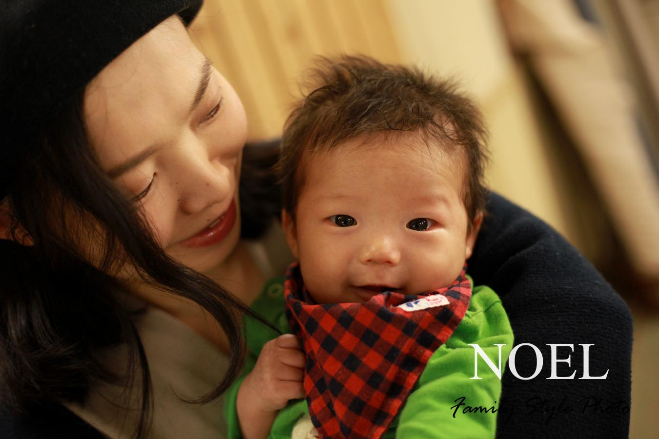 ママと赤ちゃん写真