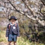 桜×園バッグ姿撮影会パート2(狛江市)
