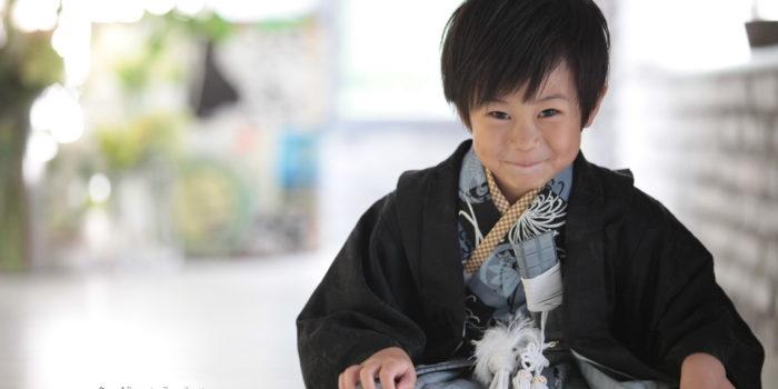 七五三5歳着物モデル