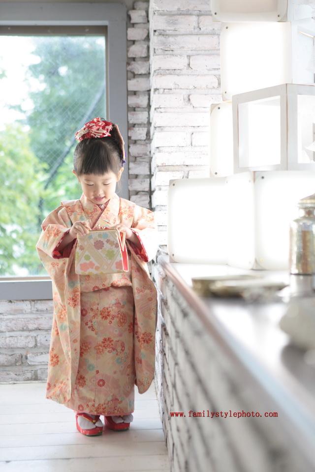 七五三3歳着物モデル
