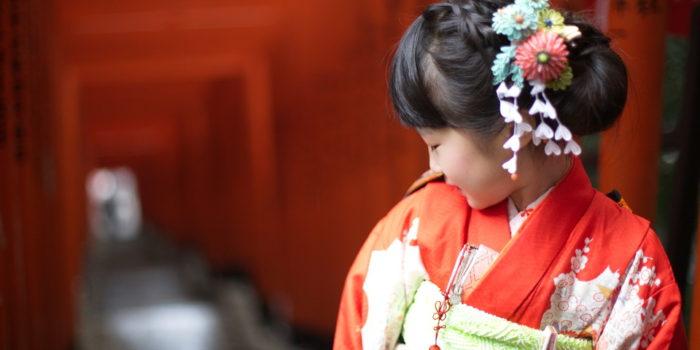 赤坂日枝神社 七五三 七歳