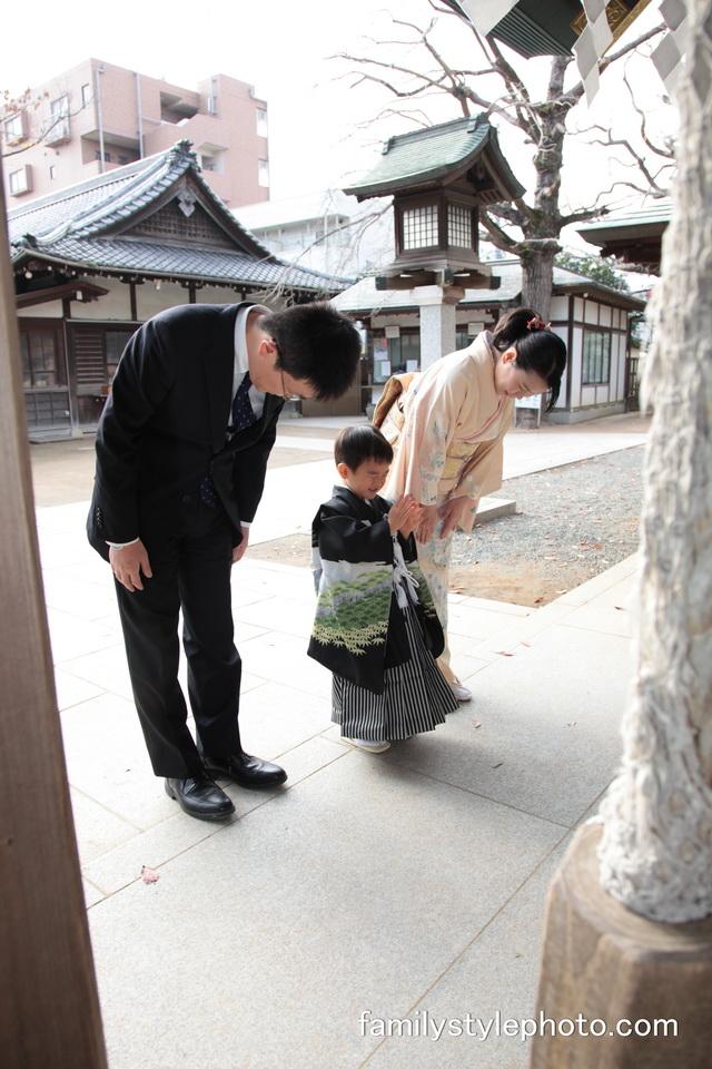 千葉県七五三神社出張撮影@船橋大神宮さま(船橋市)