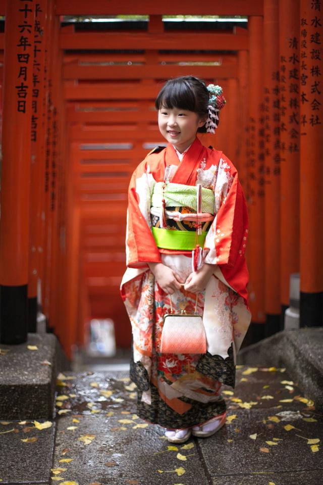 日枝神社 七五三 7歳