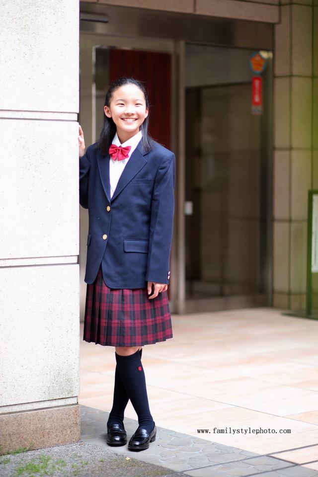 入学写真 東京