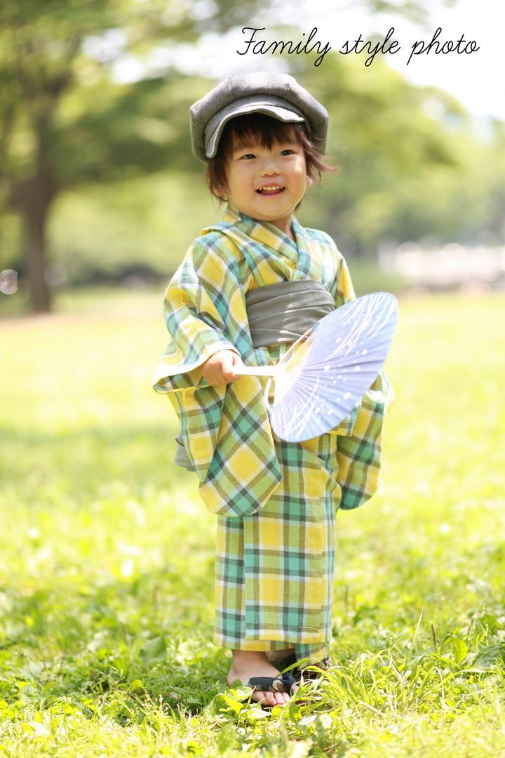 東京の子供着物撮影