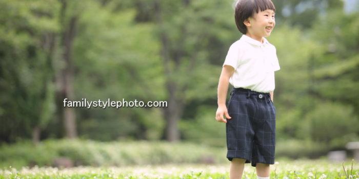 子供写真の出張撮影