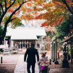 狛江伊豆美神社の七五三出張撮影