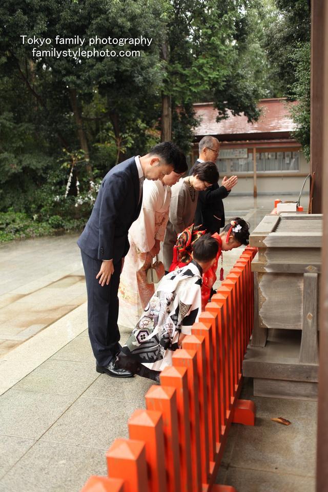 七五三神社撮影