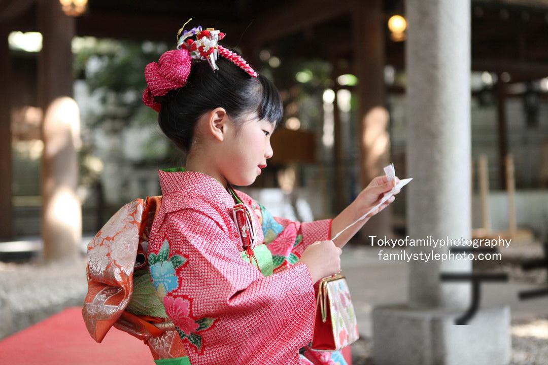 川越氷川神社で七五三
