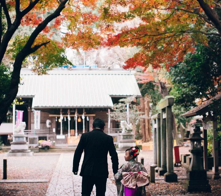 狛江伊豆美神社七五三