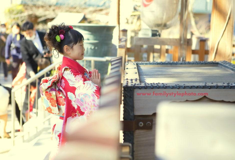 松戸神社七五三写真